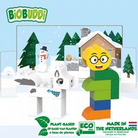 BiOBUDDi - Winter Hike - Eco Friendly Block Set - 27 Blocks